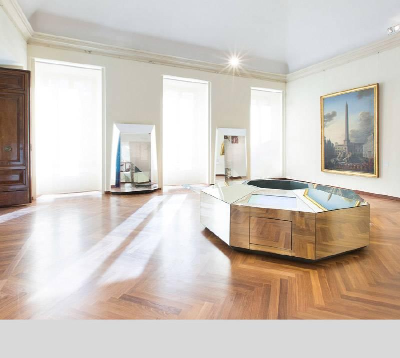 L'allestimento di un museo interattivo in un palazzo barocco.