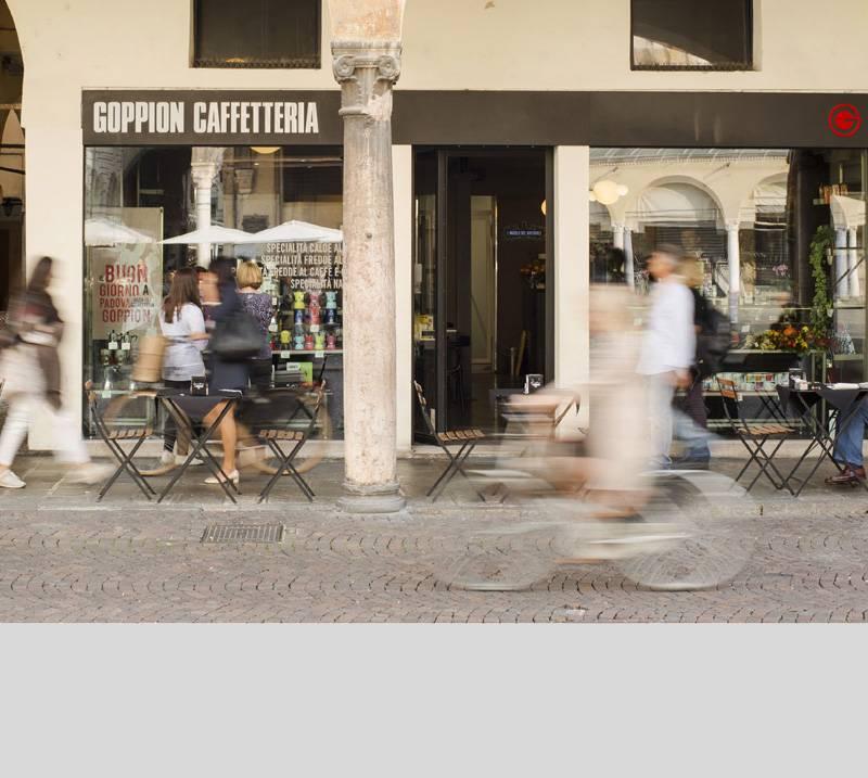 Goppion Caffé: presentazione digitale video interattiva.