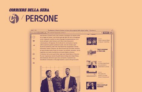 Studio Visuale sul Corriere Innovazione immagine news 470x306