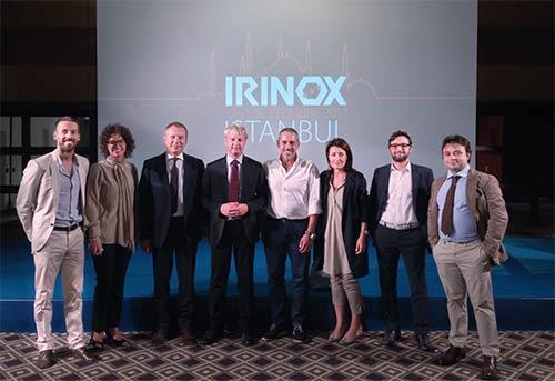 Irinox Convention Istanbul - Katia da Ros, Luigino Granziera, Luca Gennai, Silvia Tonon