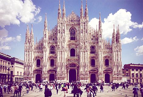 Duomo di Milano - shooting Studio Visuale Veneranda Fabbrica del Duomo di Milano