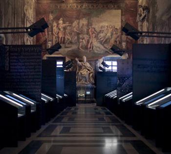 Lux in Arcana, AS VaticanoMostra immersiva, grafica d'ambiente e percorsi multimediali