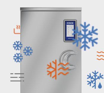 Irinox, strategia di comunicazioneper il freddo e il caldo