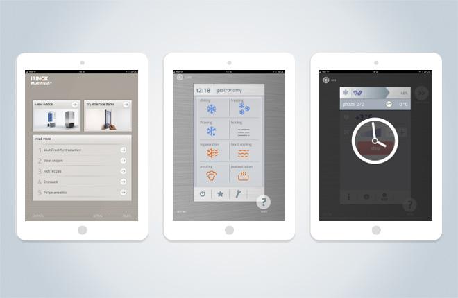 Demo completa dell'interfaccia MyA funzionante su Tablet e PC
