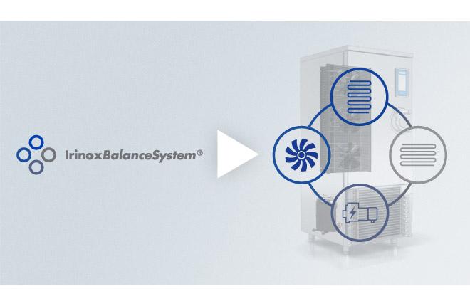 Video sull'Irinox Balance System: il mix di componenti che rendono unico il MultiFresh.