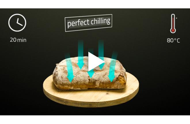 Video sulle performances di raffreddamento e surgelazione di MultiFresh.