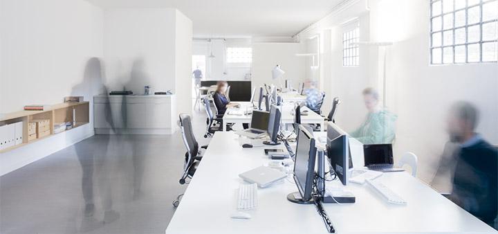 studio visuale - foto dello studio, l'ambiente centrale
