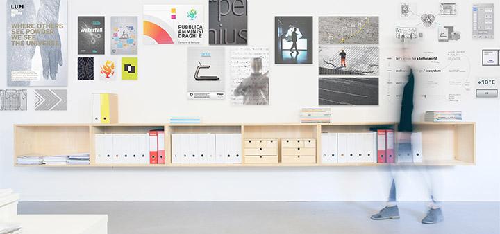 studio visuale - foto dello studio, libreria
